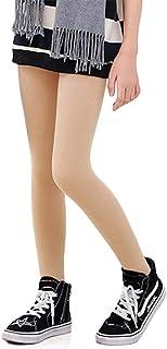 LOLANTA Pantalones de invierno para niñas Leggings cálidos Medias opacas de vellón grueso