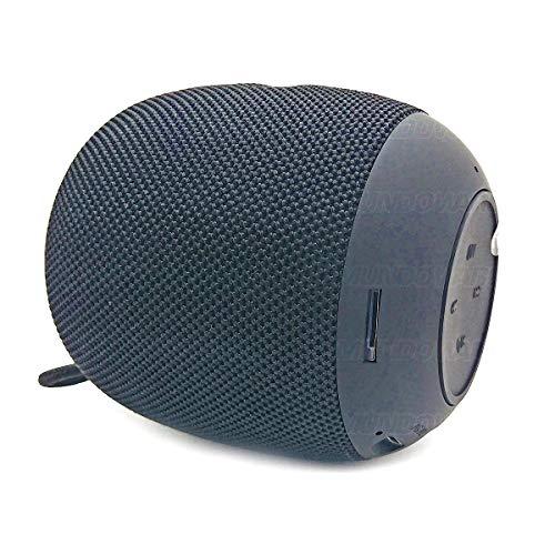 Caixa Bluetooth 4.2 Som Portátil 3W com Rádio FM Entrada USB Micro SD Auxiliar P2 Função Atende Telefone XG4 Preta