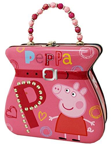 Tin Box Company Peppa Pig Carry All Tin Purse