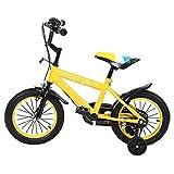 MuGuang 14 Pulgadas Bicicleta Infantil Estudio Aprendizaje Montar a Caballo Bicicleta niños niñas...