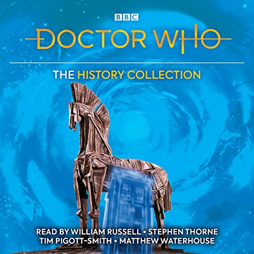 Doctor Who: The History Collection audiobook cover art