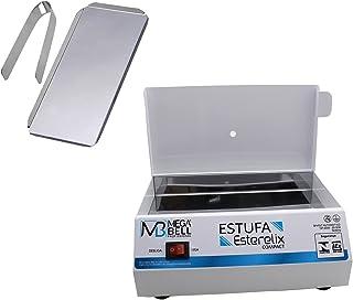 Estufa Manicure Esterilizadora P/Alicate Pedicure + Bandeja com Pinça - Mega Bell
