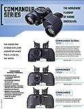 Steiner Commander Series 7x50 Marine Binoculars, Performance Marine Optics to Navigate Low Light or Fog, With Compass