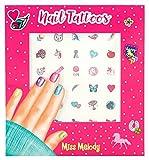 Photo de Depesche 4463 Tatouages pour ongles Miss Melody