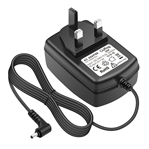 "Outtag 20W 5V 4A UK Plug Main Charger for Lenovo Ideapad 100S-11IBY Model 80R2, 100S 11.6' (Intel Atom Z3735F);ADS-25SGP-06 05020E,GX20K74302 Miix 310-10ICR Model 80SG 80SG001FUS (!Not for 14.1""15.6"")"