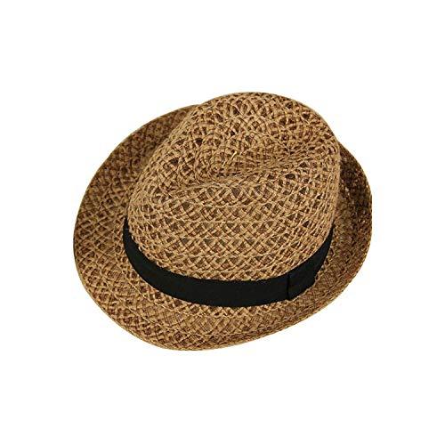 Kamiye Señoras Sombrero de Paja en el Mercado de Verano Calle Viaje Parasol Jazz Sombrero Beach Sombrero…