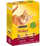 Purina Friskies Crocchette Gatto Adult con Manzo, Pollo e...