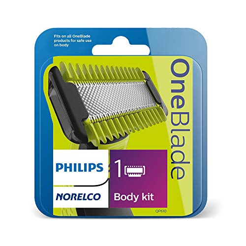 Philips Norelco OneBlade Body Kit, QP60 / 80, 3 pieces, Multi, 1 Count