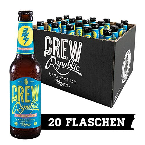CREW Republic Craft Beer 7:45 Escalation, Double India Pale Ale, IPA (20 x 0,33 l)