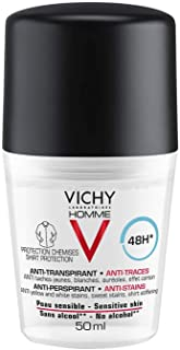 Vichy Homme Deodorant For Men Extreme Control 48H