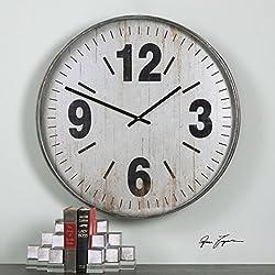 AR Lighting The Uttermost Marino Oversized Wall Clock