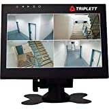 Triplett Multi-Purpose 7' 1080P 4:3 HD LED Monitor with Carry Case - Use as Monitor for Computers, Laptops, Security Cameras, DVRs, DSLR Cameras & Raspberry PI Projects | AV /BNC /VGA /HDMI - (HDCM)