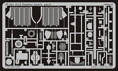 Eduard Accessories 35424 Modélisme Accessoires SD. KFZ. 171 Panther A Jeu de détail extérieur