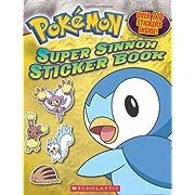 Pokemon: Super Sinnoh Sticker Book