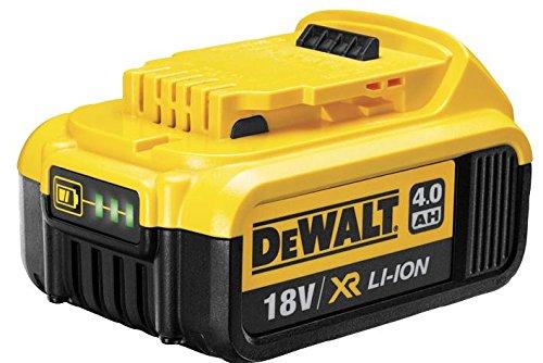 DeWALT DCB182 Iones de Litio 18V batería Recargable - Batería/Pila Recargable (4 WH, Ión de Litio, 18 V, Negro, Amarillo)