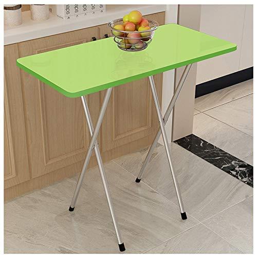 Ldfzq Klapptisch Tragbar, Beistelltisch Gartentisch 80 * 40 * 70cm, MDF + Stahlrohr, Schreibtisch Für Familien Balkon Terrasse Party Picknick