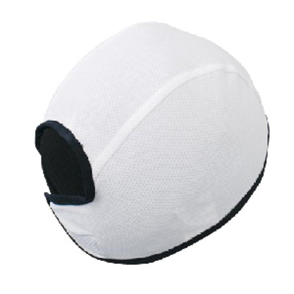 ますますひねり効果的COVER WORK 吸汗ヘルメットインナー F ホワイト FT-241