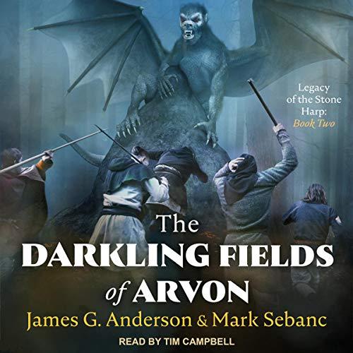 The Darkling Fields of Arvon cover art