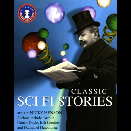 Classic Sci Fi Stories audiobook cover art