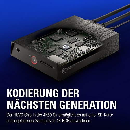 Elgato 4K60 S+ Aufnahme in 4K60 HDR10 auf SD-Karte, verzögerungsfreie Weiterleitung des 4K60 HDR Signals, PS5/PS4, Xbox Series X/S, Xbox One X/S - 5