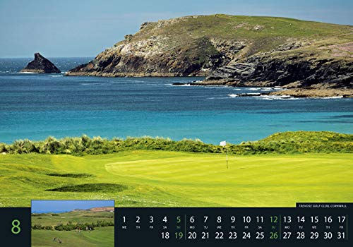 Golf 2018 – Sportkalender / Golfkalender international (49 x 34) - 9