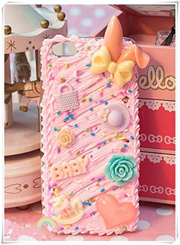 One Life ,one jewerly Conejo rosa de la crema del oído del conejo, cáscara móvil encantadora,