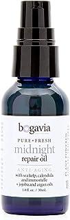 Sponsored Ad - Bogavia Midnight Repair Facial Oil with Organic Rosehip Oil and Organic Jojoba Oil I Vegan Anti-Aging Face ...