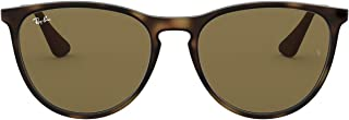 Ray-Ban Girl's Izzy Junior Sunglass 0RJ9060S Round Sunglasses, Rubber Havana, 50 mm