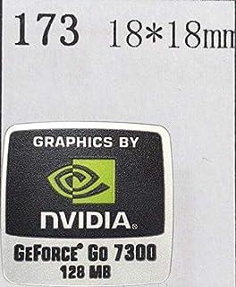 【NVIDIA GEFORCE Go 7300 128MB】エンブレムシール 18*18mm