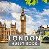 London Guest Book: Prompted Airbnb City Holiday Home Visitor Message Journal