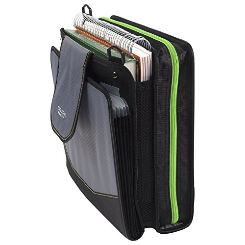 Five Star Sewn Zipper Binder, 2 Inch 3 Ring Binder With 4 Inch Capacity, Assorted Colors, Color Selected For You, 1 Count (28044) Photo #26