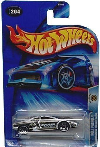 seguro de calidad Hot Wheels Lamborghini Murcielago Roll Patrol Series Enforcer    204 '04 1 64 Scale Collector Die Cast Car  servicio considerado