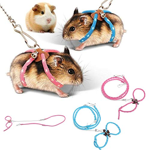 zhuangyulin6 1 PC Hamster Harness Rope, Pet Hamster...