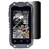 atFolix Blickschutzfilter kompatibel mit Simvalley-Mobile SPT-210 Blickschutzfolie, 4-Wege Sichtschutz FX Schutzfolie