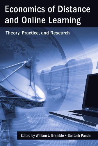 Economics Of Distance And Online Learning Theory Practice And Research