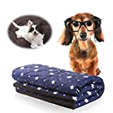 miadore Waterproof Dog Blanket, Soft Fleece&Nylon Pet Kennel Bed Mat Pad Cushion for Couch Bed Sofa Car Seat for Small Medium Dogs Puppy Cat 2 (Small)