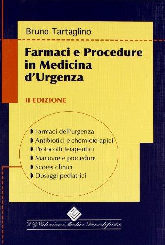 Farmaci e procedure in medicina d'urgenza