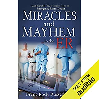 Miracles & Mayhem in the ER audiobook cover art