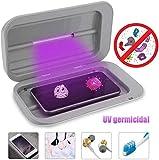 Knoijijuo Smilewx Reiniger Sterilisator Handys Sanitizer Intelligent Telefon, Mit USB-Ladegerät Für iPhone Galaxy Telefon
