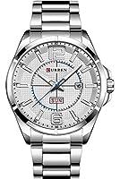 腕時計 超薄型 メンズ カップル ビジネス 人気 秒表示 防水 曜日表示 カレンダー メタルバンド ファッション フォーマル スポーツ おしゃれ エレガント クラシック シンプル ギフト プレゼント