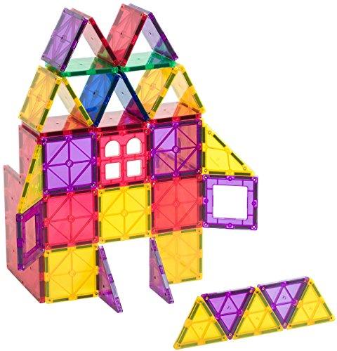Playmags 60 Piece Set Magnet Building Tiles
