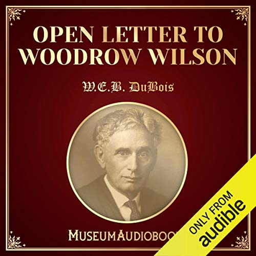 Open Letter to Woodrow Wilson audiobook cover art