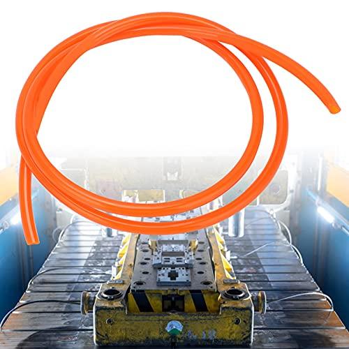 Manguera neumática de bomba de aire, manguera neumática de compresor de aire flexible con materiales puros para la mayoría de las personas para la industria de la madera(orange, 1m)