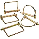 Katzco 5 Piece PTO Pin Assortment Set Ð for Safety Power Take-Off Assemblies, Automotive, Farm, Trailers, Wagons, Hitches, Couplers, Towing, Lawn, and Garden