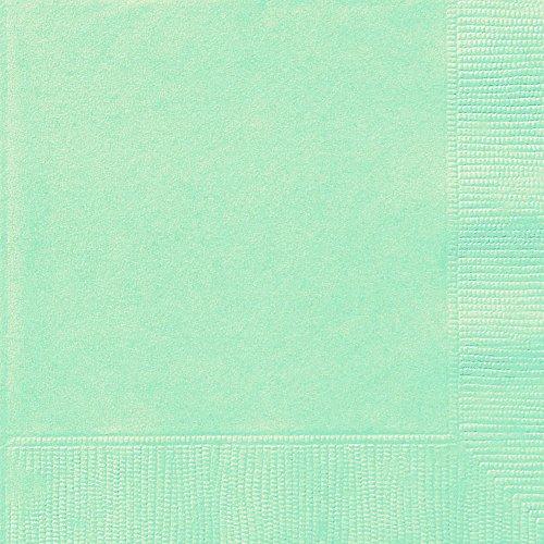 Papierservietten, 16,5 cm 20er-Packung mintgrün
