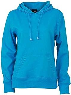 James and Nicholson Womens/Ladies Hooded Sweatshirt