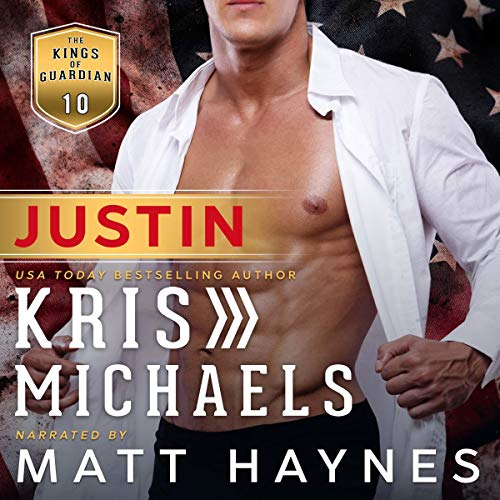 Justin audiobook cover art