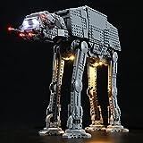 Kit De Iluminación Led para Lego Star Wars At-At Walker, Compatible con Ladrillos De Construcción Lego Modelo 75288 (Juego De Legos No Incluido)