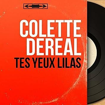 Tes yeux lilas (feat. Jean Bouchéty et son orchestre) [Mono Version]