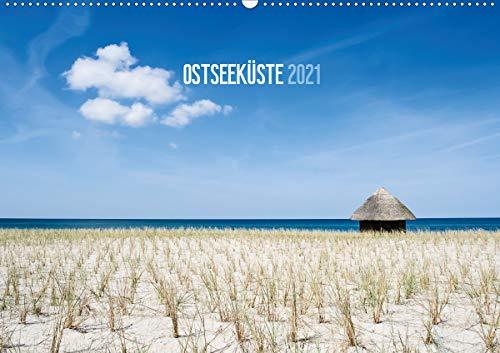 Ostseeküste 2021 (Wandkalender 2021 DIN A2 quer)